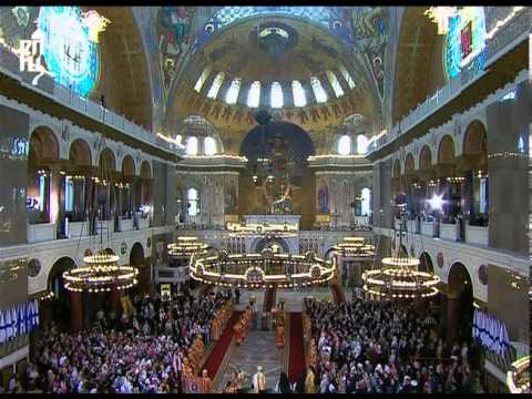 Запись трансляции Патриаршего богослужения в Кронштадтском Морском соборе. Часть 1