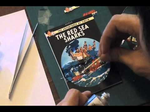 TinTin and the Red Sea Sharks (Paper Tole) - Victor Lin