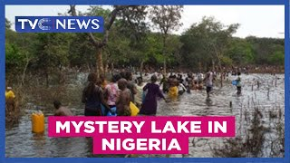 Repeat youtube video Mystery Lake found in Nigeria | TVC News