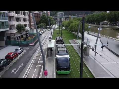 Tram in Bilbao - Euskotren Tranbia