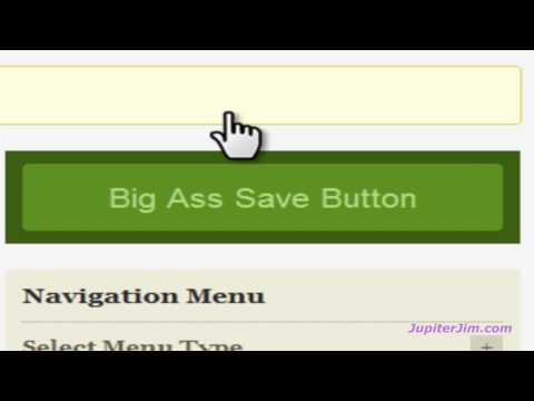 Moving TABS in Navigation Menu with WordPress Thesis Theme 1.8