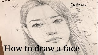 [ENG]인물드로잉 초보자를 위한 얼굴 쉽게 그리는 방…