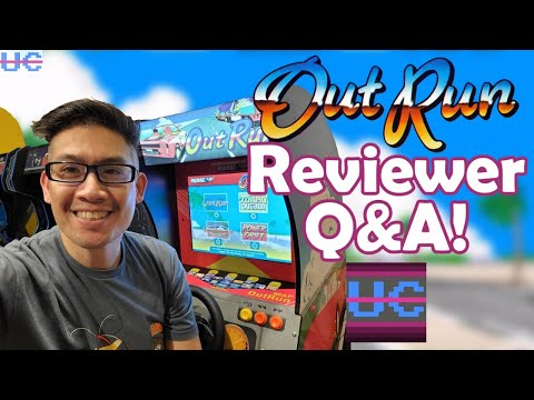 Out Run Arcade1up Review Discussion with the Reviewer, Kongs-R-Us! | UC Live from Unqualified Critics