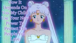 Sailor Chibi Moon Upgrade To Eternal !!