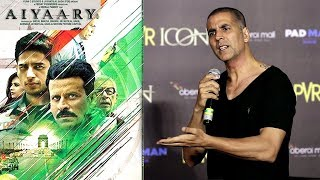 Akshay Kumar's BEST Reply On Padman Clashing With Sidharth Malhotra's Aiyaary