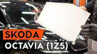 Wie Sie Bremssattel Reparatursatz beim SKODA OCTAVIA Combi (1Z5) selbstständig austauschen - Videoanleitung