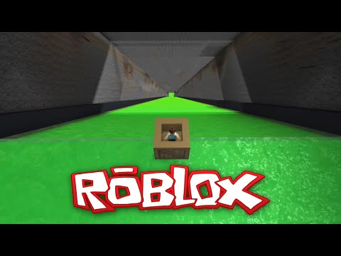 Roblox Adventures / Ultimate Slide Box Racing / Into the Sewer!!
