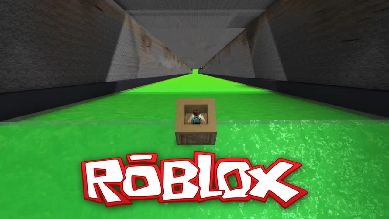 Roblox Adventures  Ultimate Slide Box Racing  Into the Sewer  YouTube