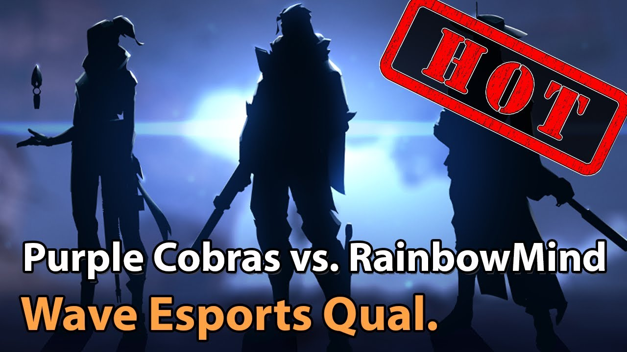 ► Valorant Esports - Purple Cobras vs. Rainbow Mind - Wave Esports Qualifier