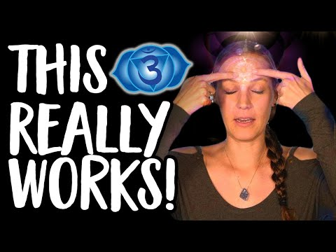 Opening Your Third Eye... A Powerful Practice That Really Works! 😇💜✨