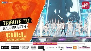 Superstar Rajinikanth Tribute Dance Performance | PETTA Audio Launch