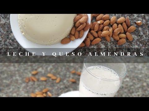 RECETA LECHE  Y QUESO DE ALMENDRAS | Ticky Gomezal