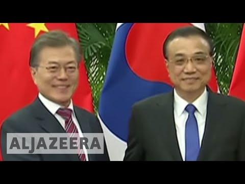 South Korea's president winds up China visit