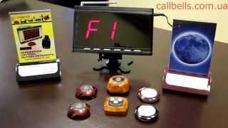 видео система вызова официантов