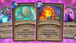 GNOMEBLITERATING EVERYTHING in Tombs of Terror Heroic Wing 2! | Hearthstone