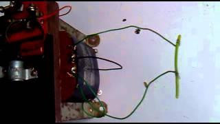 Fish shocker trafo 12vDC to 220vAC