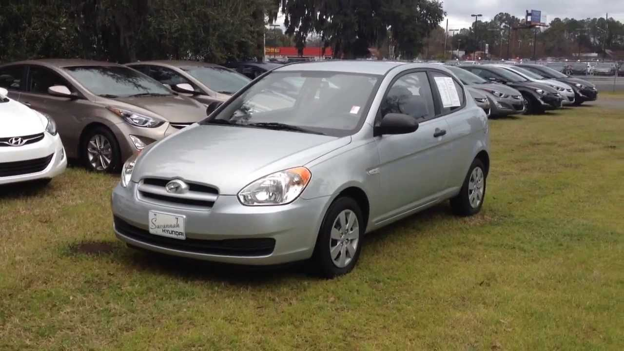 certified pre owned 2009 hyundai accent used cars for sale savannah ga 31406 youtube. Black Bedroom Furniture Sets. Home Design Ideas