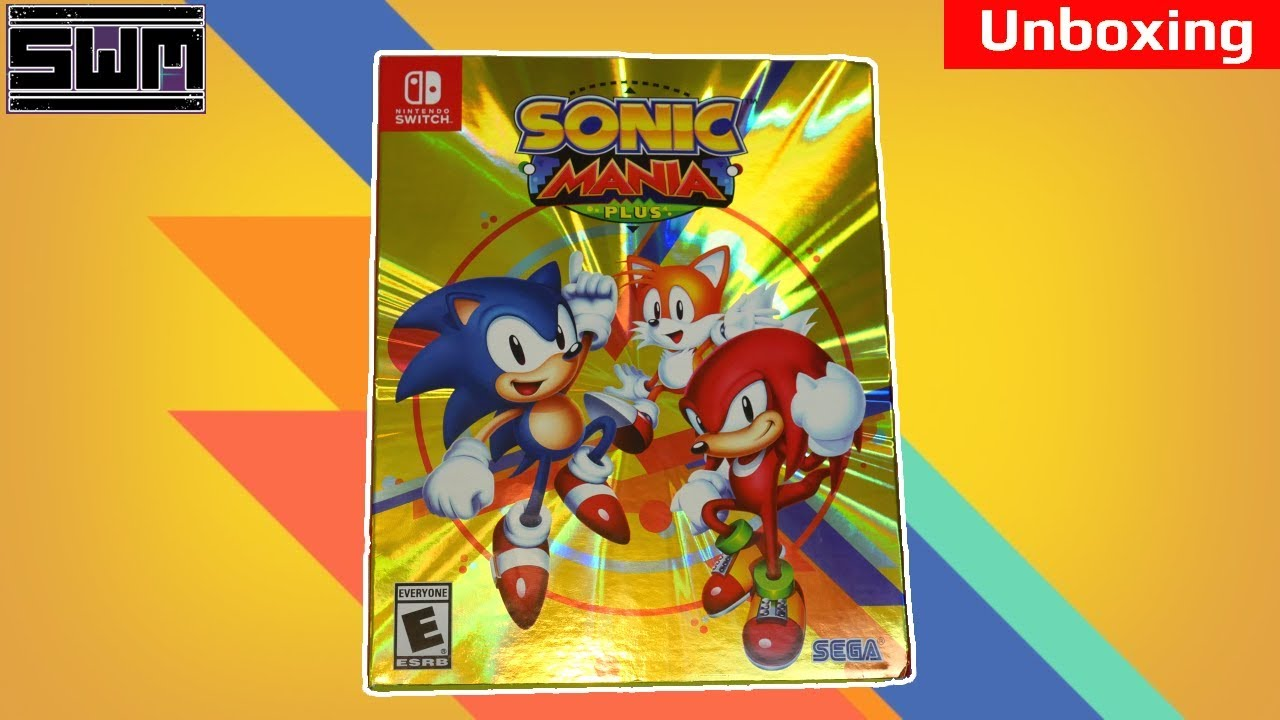 Sonic Mania Plus Nintendo Switch Unboxing Youtube