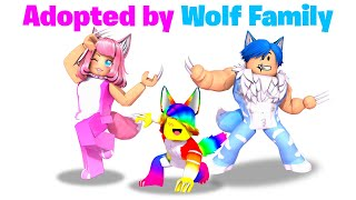 Download BABY Tofuu gets Adopted by WOLF FAMILY.. 🐺🐾 (Roblox)