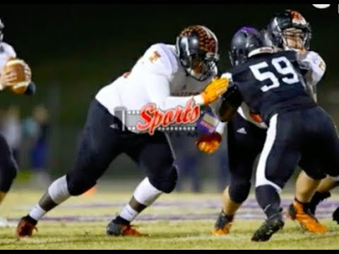 Kenneth Pierce Official Junior Highlights #74 || Northwest Cabarrus High School (Class of 2020)
