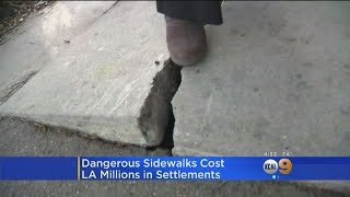 LA To Pay Out Over $3M In Latest Broken Sidewalk Settlements