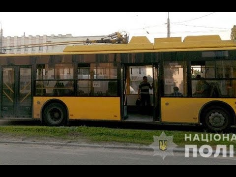 mistotvpoltava: У тролейбусі чоловіка вдарили ножем
