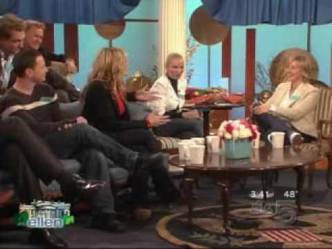 West Wing Cast on Ellen pt 3