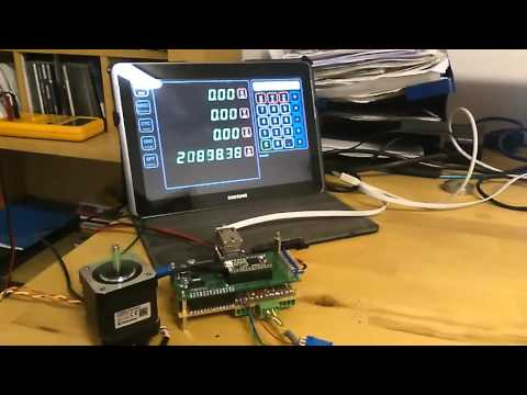 High Speed (800000 cts / sec) Encoder Counter test