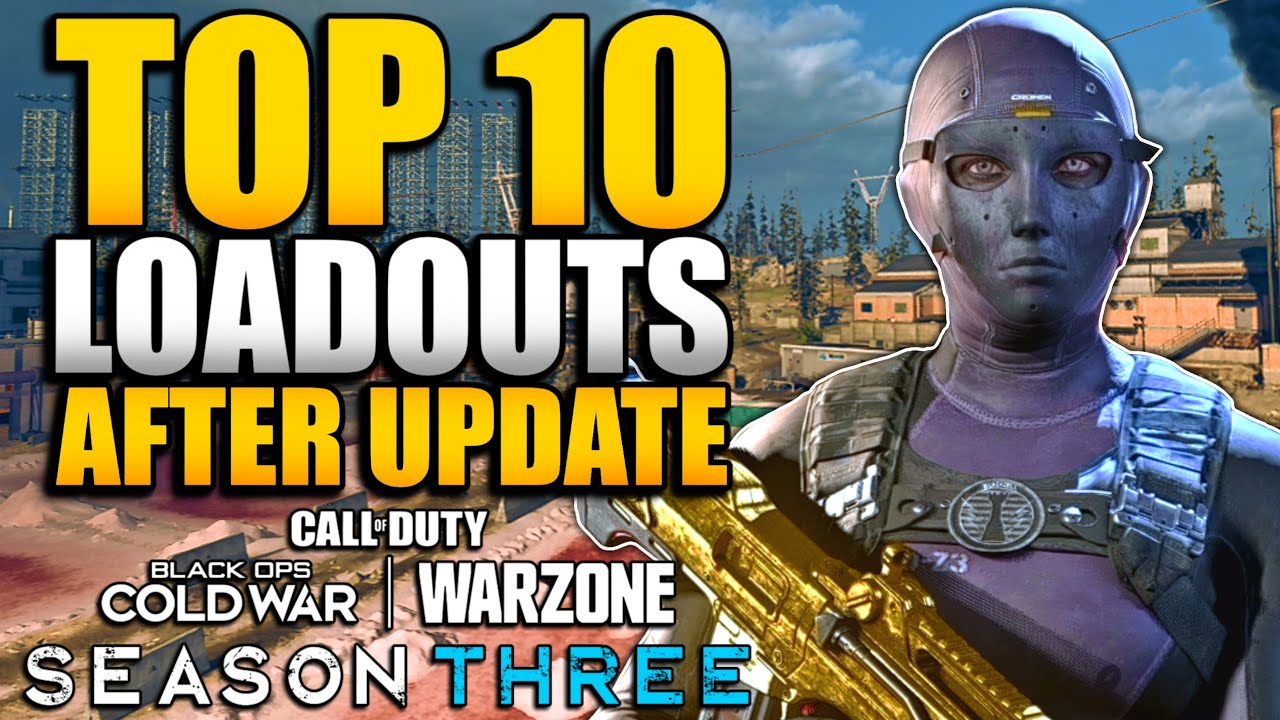 Top 10 Loadouts & Class Setups in WARZONE After AMAX Nerf | Krig, Stoner, MP5, LC10, Kar98k and More
