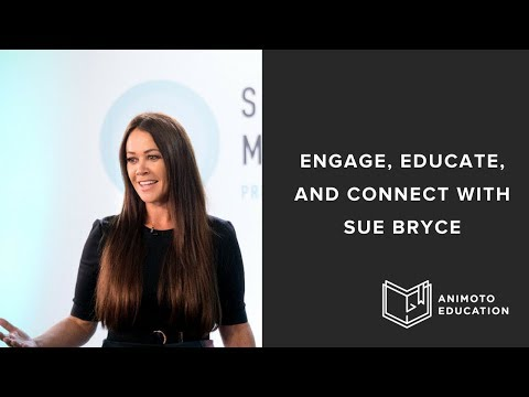 How To Engage, Educate And Connect With Your Audience By Sue Bryce
