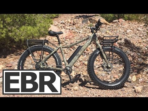 Surface 604 Boar E750 Hunter Video Review - $2.2k Fat Tire Hunting Electric Bike wit Racks