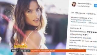 Одна из «ангелов» Victoria's Secret поделилась соблазнительным видео