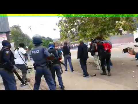 Rubber bullets fired in Pretoria CBD