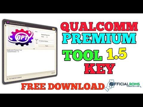 Qualcomm Premium Tool 1 5 With Key Free Download