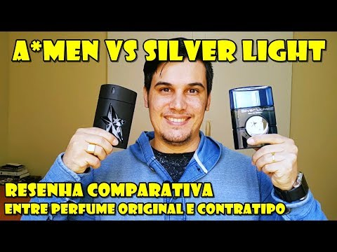 A*MEN de Thierry Mugler vs Silver Light da Linn Young - Resenha Comparativa