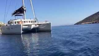 Catamaran Lagoon-500. Greece 2015