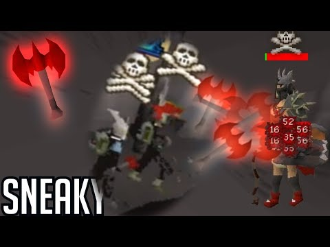 Rev Caves Dragon Throwing AXE! Insta Kills (OSRS)