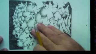 How To Draw A School Of Fish with Mark Kistler