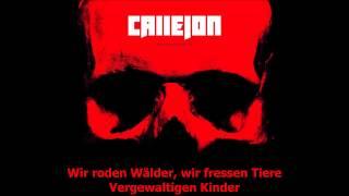 Callejon - Krankheit Mensch [HQ] [Lyrics]