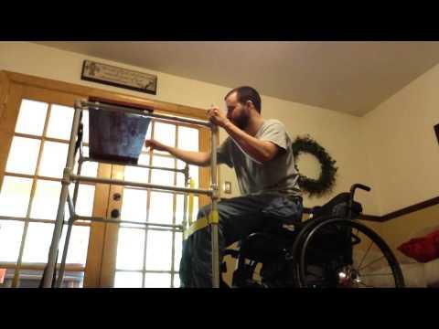 Scivideoblog Com Paraplegic Using Standing Frame Youtube