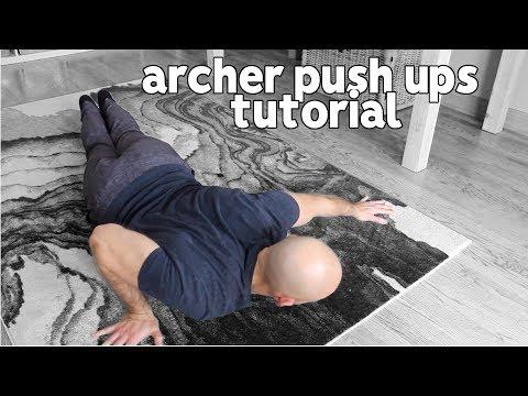 Archer Push Ups Tutorial | Progressions From Basic Push Ups