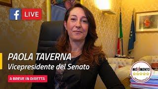 Paola Taverna: io continuo, continuo sulla mia strada.