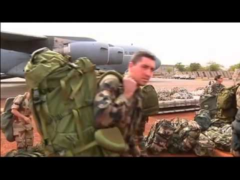 Mali war, Rebels Fired on U.S. Military Plane Ferrying Supplies - YouTube