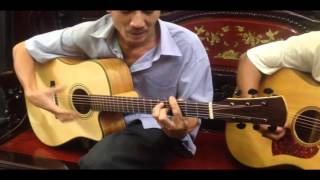 Trường sơn đông Trường sơn tây _guitar Lâm - Thông
