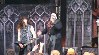 Powerwolf -  Coleus Sanctus - live Dokk