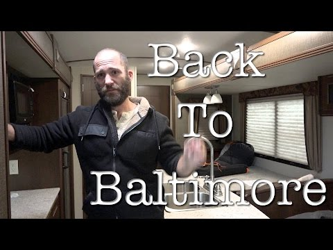 Back to Baltimore in the Silicon Trailer