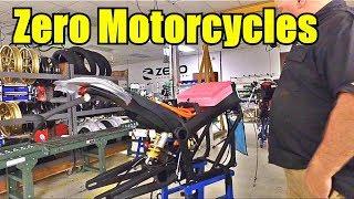 Заводские Мотоциклы. Калифорния Соберите | электрические мотоциклы