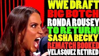 Triple H On Ronda Rousey 2019 Return To WWE! Bayley Heel Turn! WWE Draft Botch Today! Wrestling News