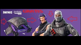 FORTNITE -TWITCH PRIME + FORTNITE ( SKIN GRATIS!)