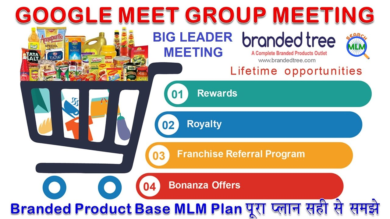BRANDED TREE BRANDED PRODUCT BASE MLM PLAN | GOOGLE MEET GROUP MEEETIMG |  M:-9990423839 | SEARCH MLM - YouTube